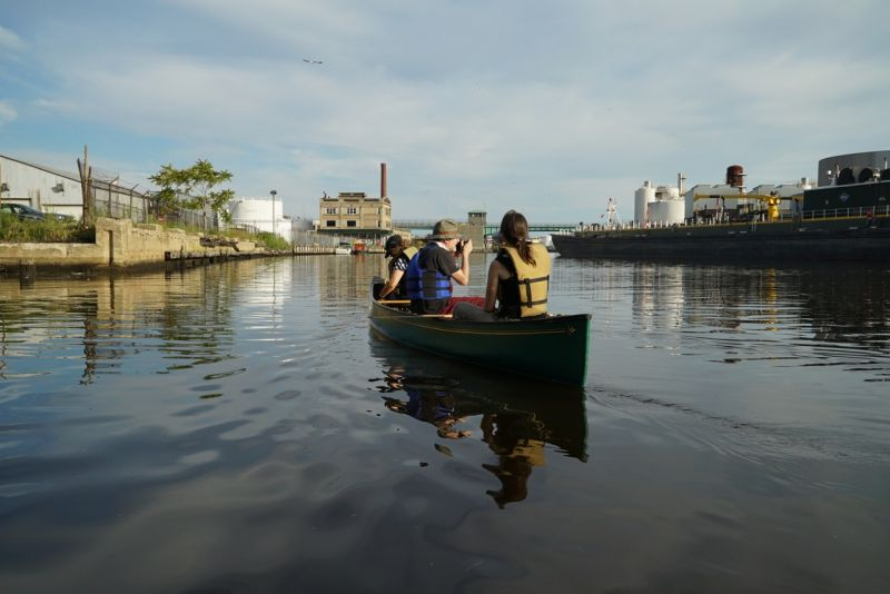 Newtown Creek Canoe Expedition